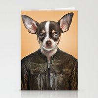 chihuahua Stationery Cards featuring Chihuahua  by Life on White Creative