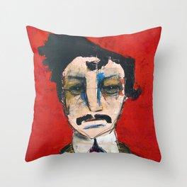 1865 Killed Abraham Lincoln (John Wilkes Booth) Throw Pillow