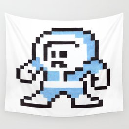 ice man Wall Tapestry