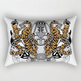 """""""Detroit Nouveau; Coat of Arms"""" Rectangular Pillow"""