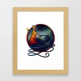 Ra and Apep Framed Art Print
