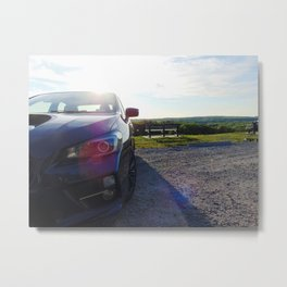 Subies and Sunsets Metal Print