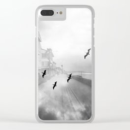"""Birds of a Feather"" Holga Double Exposure in San Diego, California Clear iPhone Case"