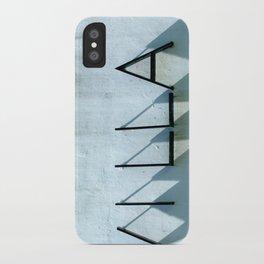 Villa Shadows iPhone Case