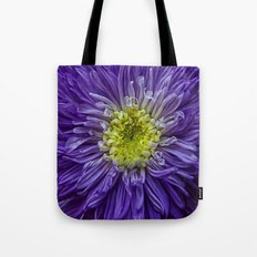 purple explosion Tote Bag