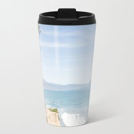 Morning in Santa Barbara Travel Mug