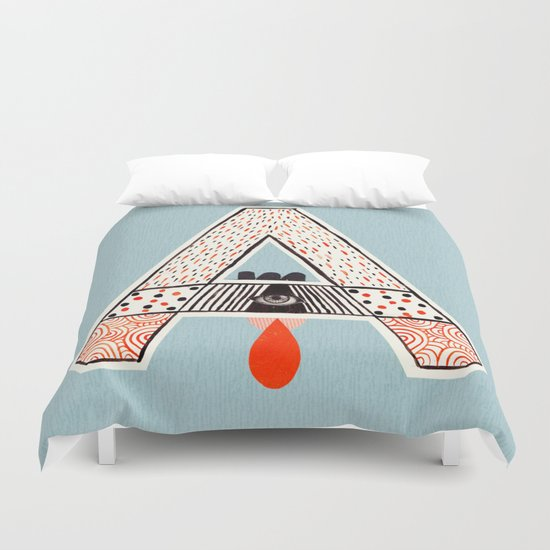 "a to z - ""A"" Duvet Cover"