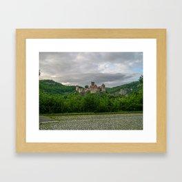 On the Top-Hardegg, Austria Framed Art Print