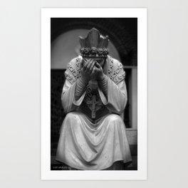 Mourn Your Faith Art Print