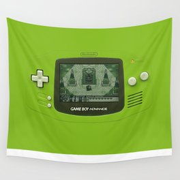 Gameboy Zelda Link Wall Tapestry