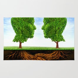 Trees Friendship  |I| Rug