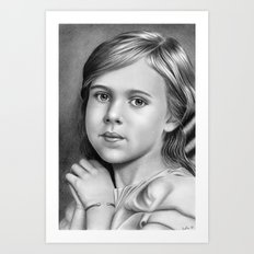 Child Portrait 01 Art Print