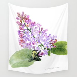 Lilac Love by Teresa Thompson Wall Tapestry