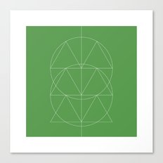 #332 Totem – Geometry Daily Canvas Print