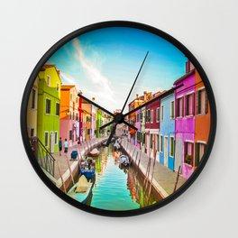 Burano Wall Clock