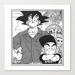 DBZ - Manga 8 Canvas Print