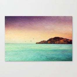 Glowing Mediterranean Canvas Print