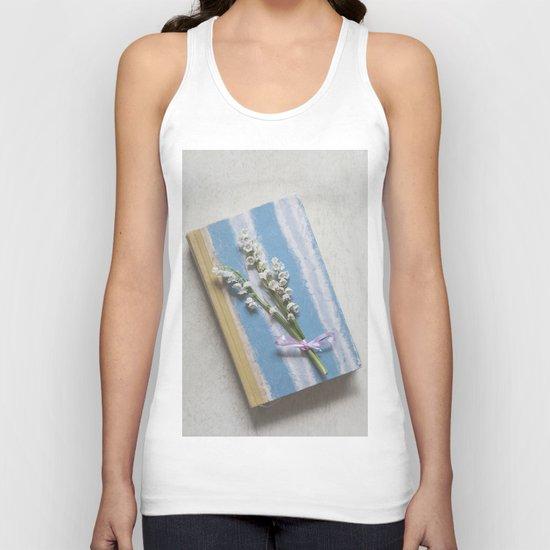 Romantic Book Unisex Tank Top