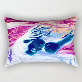 GARDIAN ANGEL AZRAEL, BY LADYKASHMIR Rectangular Pillow