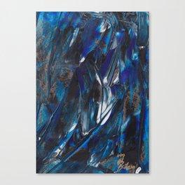 Waves Triptych I Canvas Print