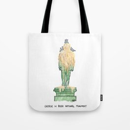 George W. Bush National Monument Tote Bag
