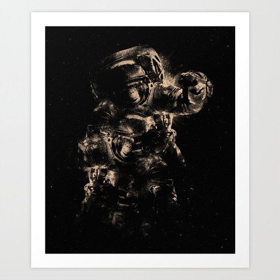 Lost in Space II Art Print