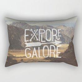 EXPLORE GALORE Rectangular Pillow