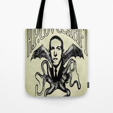 H.P. LOVECRAFT Tote Bag