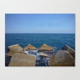 Barcelona - Espigo de la Mar Bella Canvas Print