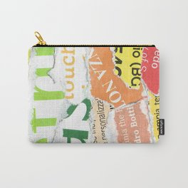 Green to Orange Carry-All Pouch