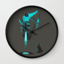 The moments Wall Clock
