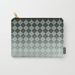 Gray-blue pattern 2 Carry-All Pouch