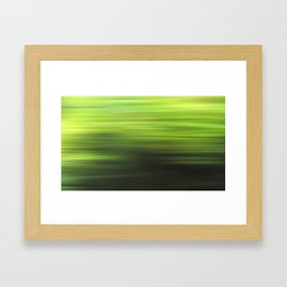 green 17 Framed Art Print