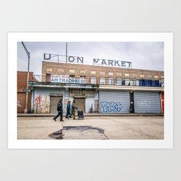 We Run These Streets Art Print