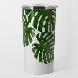 Monstera Leaf I Travel Mug