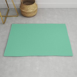 Minimal Abstract Lucite green, Coral, Grey, Honey, and White 10 Rug