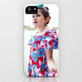 Carlita Sevillana iPhone Case