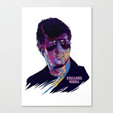 SYLVESTER STALLONE: BAD ACTORS Canvas Print