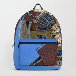 Planet Oxnard Harbor Houses Backpack