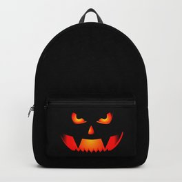 Scary Halloween Pumpkin print Gift For Halloween Party Backpack