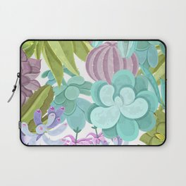 Tropical Cactus Pattern Laptop Sleeve