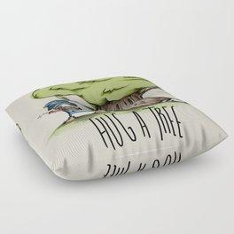 Hug a tree Floor Pillow