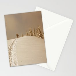 Winter day 5 Stationery Cards