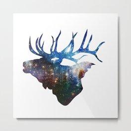 Star Elk Metal Print