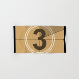 Count Down cinema Hand & Bath Towel