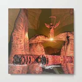 The angel of death Metal Print