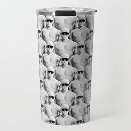 Cool Dudes / 3D render of male figures wearing sunglasses Travel Mug