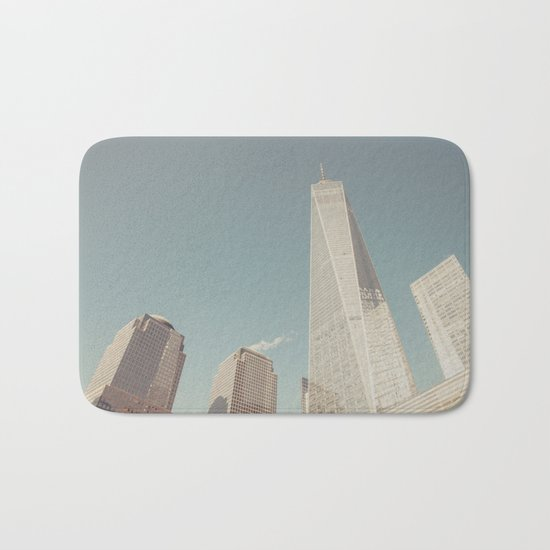 World Sky - New York City Bath Mat