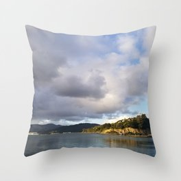 The Mouth of Andersons Bay Throw Pillow