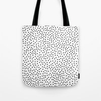 dots Tote Bags featuring Dots.. by Priscila Peress